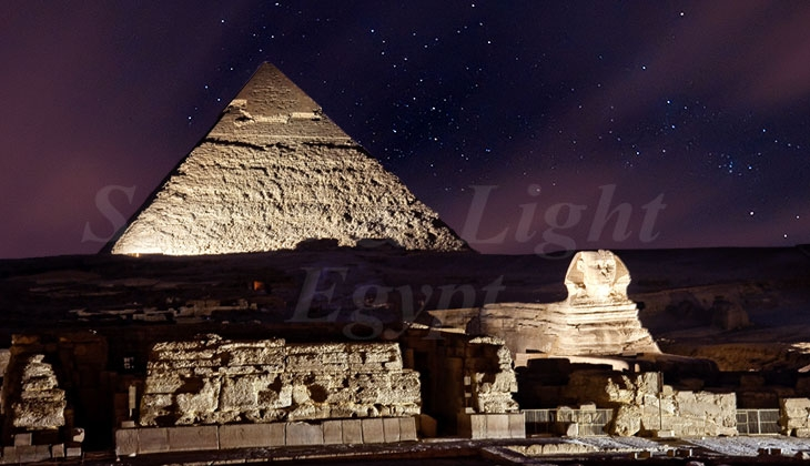 Sound and Light Shows in pyramids