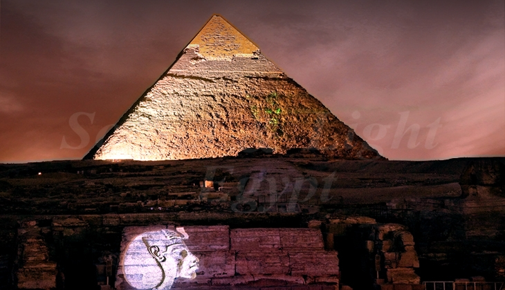 pyramids sound and light show