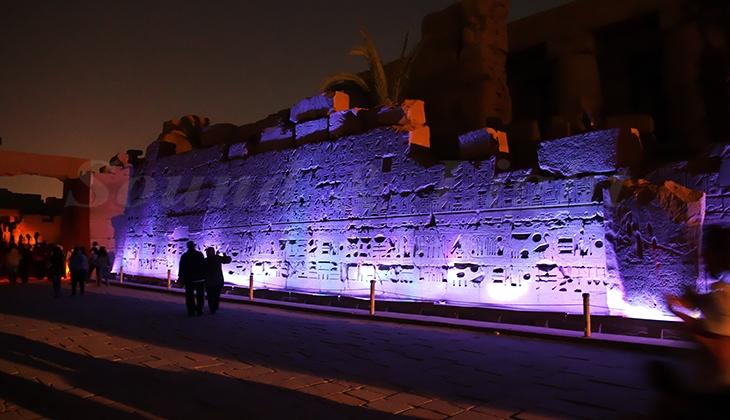 Karnak sound and light show