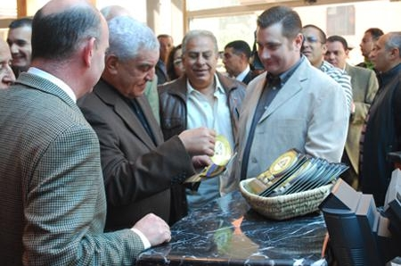 The opening ceremony of the house of gifts in the Egyptian Museum (2010)