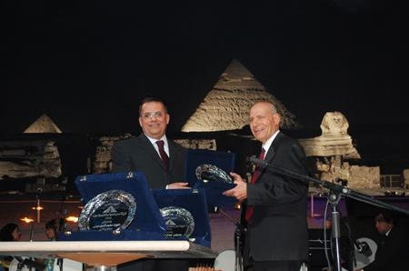 Ceremony for honoring the former chairmen of Misr Company for Sound and Light (2010-04-13  )