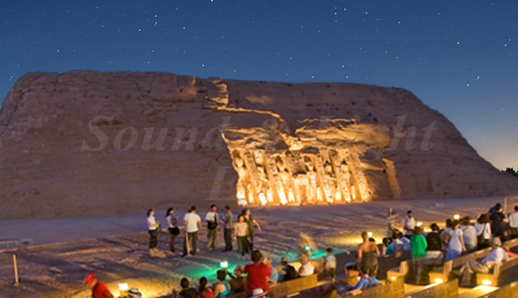Abu Simbel sound and light show